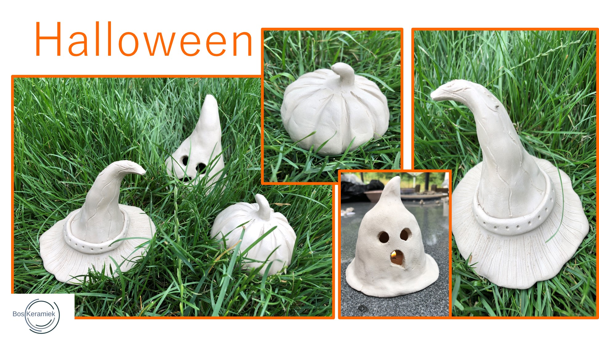 Halloween Figuurtjes Maken.Halloween Boskeramiek Be